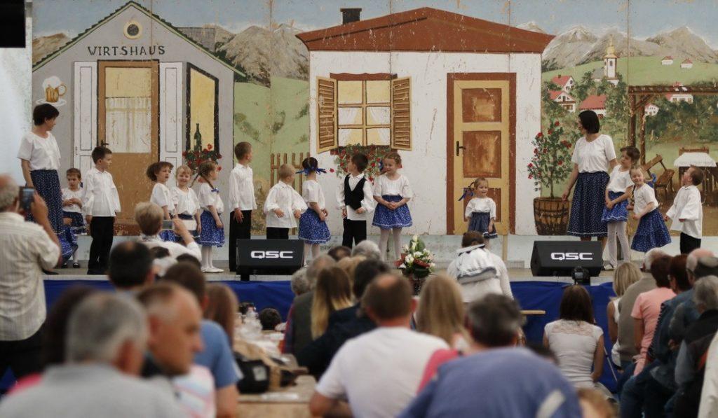 Pillanatkép a tavalyi német nemzetiségi napról. Fotó: Molnár Gyula/Paksi Hírnök