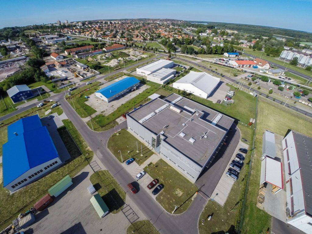A Paksi Ipari Park. Fotó: Babai István