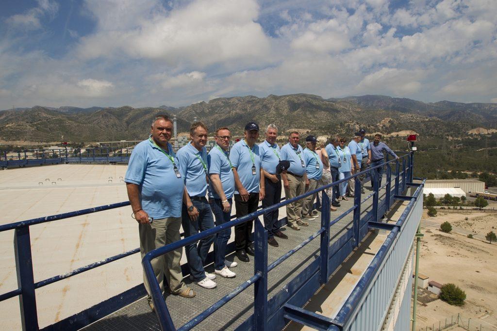 A Paks környéki települések polgármesterei Spanyolországban. Fotó: TEIT