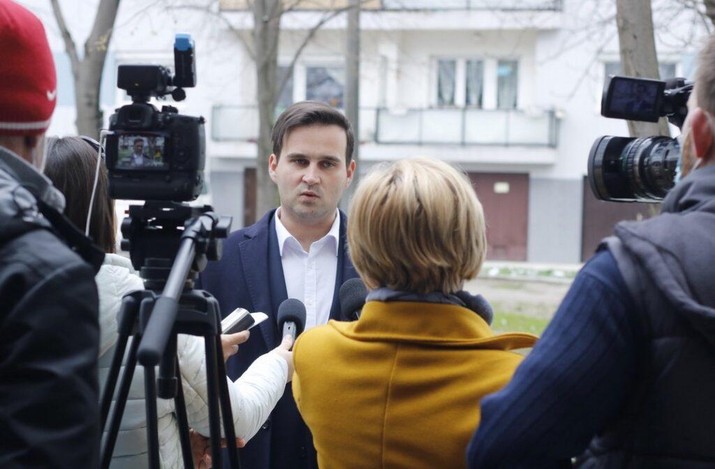 Szántó Zoltán, Paks alpolgármestere. Fotó: Molnár Gyula/Paksi Hírnök