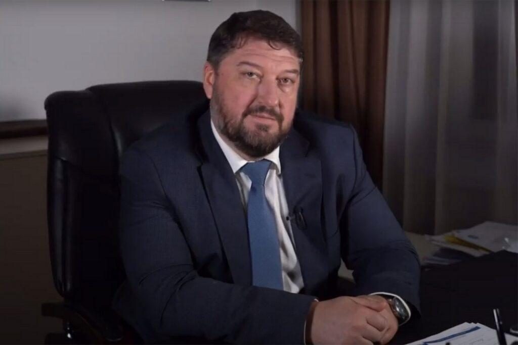 Alekszandr Hazin, a Paks II. projekt orosz generálkivitelezője, az ASZE Mérnöki Vállalat szenior alelnöke, a paksi projekt igazgatója. Fotó: Paks II. Zrt honlapja.