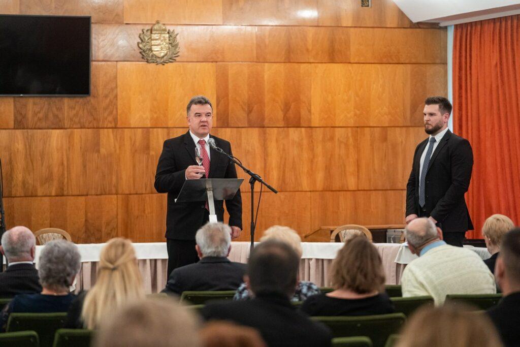 Leber Ferenc alpolgármester. Fotó: Babai István/Paksi Polgármesteri Hivatal