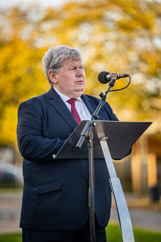 Süli János miniszter. Fotó: Babai István/Paksi Polgármesteri Hivatal