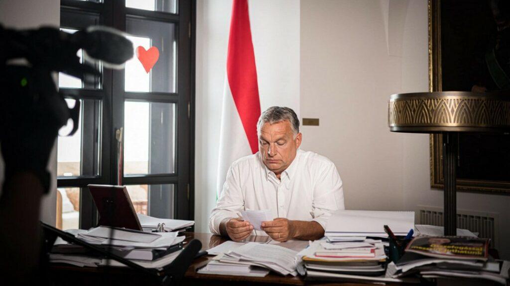 Fotó: Orbán Viktor miniszterelnök Fb. oldala./korábbi felvétel