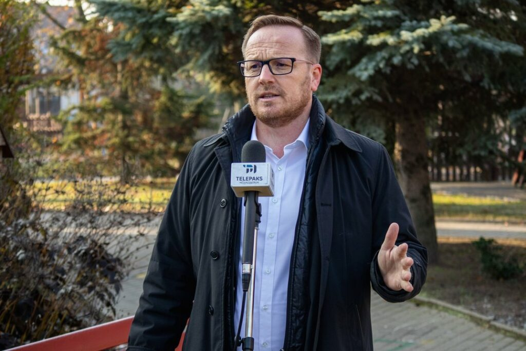 Szabó Péter polgármester. Fotó: TelePaks