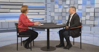 Orbán Attila volt közéleti magazinunk vendége