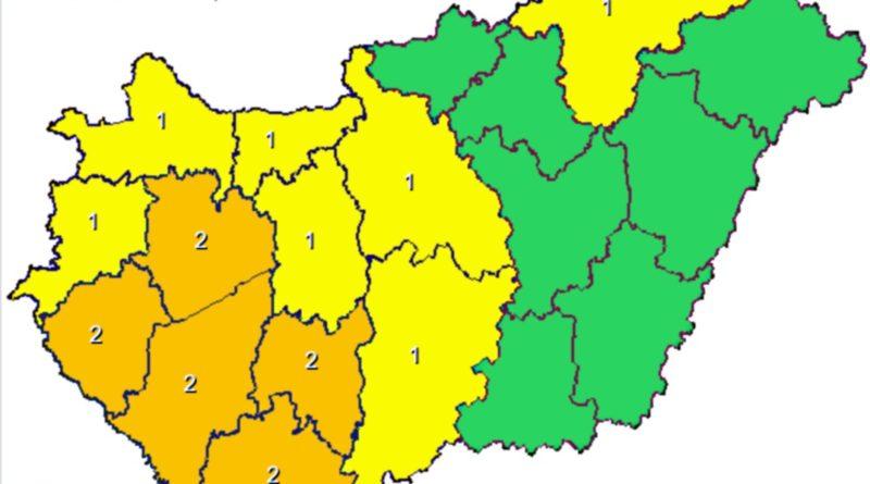 Forrás: Magyar Meteorológiai Szolgálat
