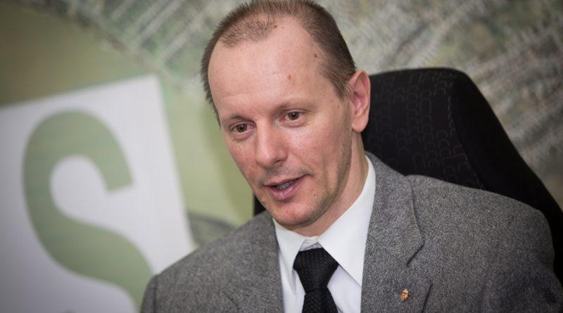 Hirt Ferenc, a körzet országgyűlési képviselője. Fotó: Kövi Gergő/Paksi Hírnök
