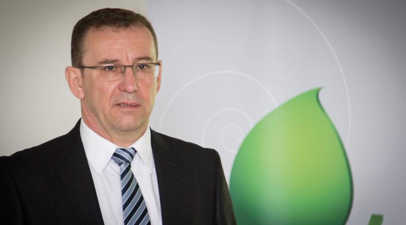 Csapó Sándor, a Mezőföldvíz Kft. ügyvezetője. Fotó: Kövi Gergő/Paksi Hírnök