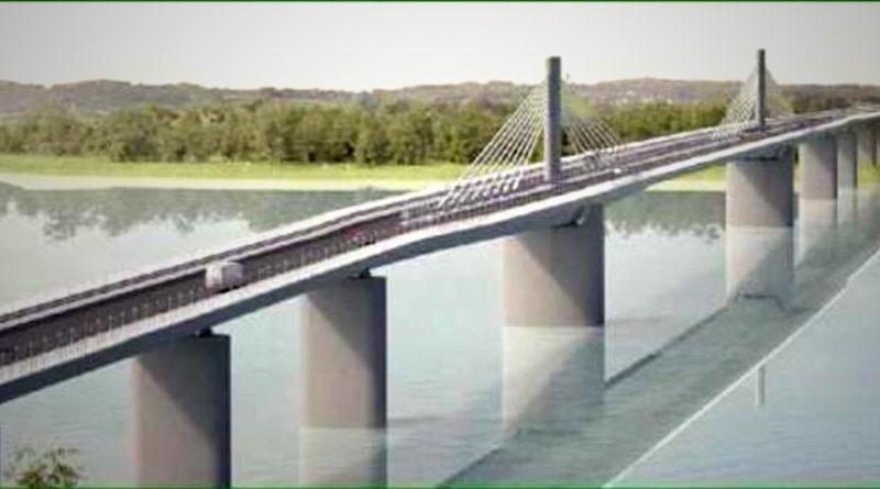 Extradosed híd. Forrás: Közlekedésfejlesztési Koordinációs Központ