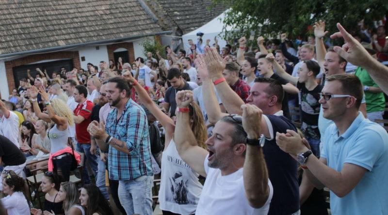A Magyarország–Izland meccsel hangoltak a fesztiválra. Fotó: Molnár Gyula/Paksi Hírnök