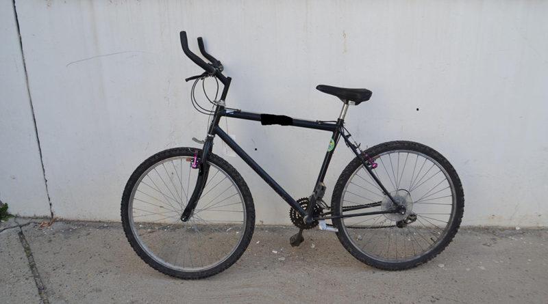 Ez a kerékpár keresi gazdáját. Fotó: Paksi Rendőrkapitányság.
