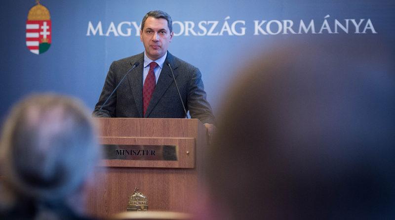 Lázár János Miniszerelnökséget vezető miniszter. Fotó: Botár Gergely/Kormány.hu