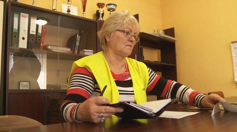Bodóné Rausch Mária Magdolna a paksi polgárőrség vezetője. Fotó: TelePaks