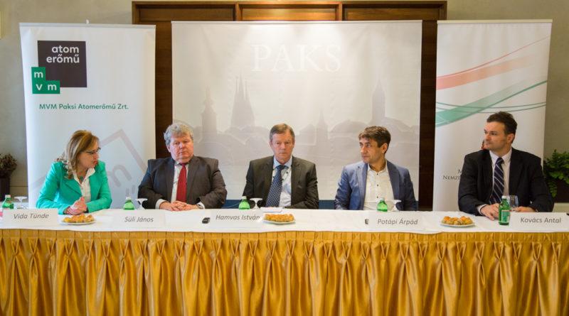 Az Örökségünk sajtótájékoztatója Pakson. Fotó: Kövi Gergő/Paksi Hírnök