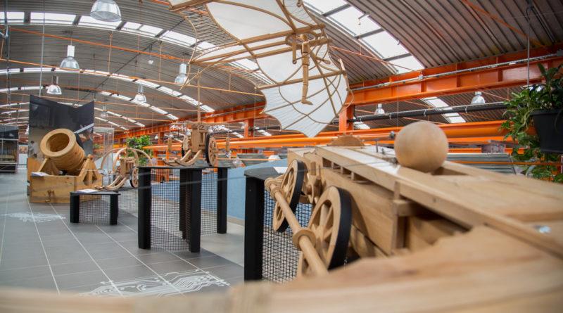 Leonardo da Vinci-kiállítás az Atomenergetikai Múzeumban. Fotó: Kövi Gergő/Paksi Hírnök