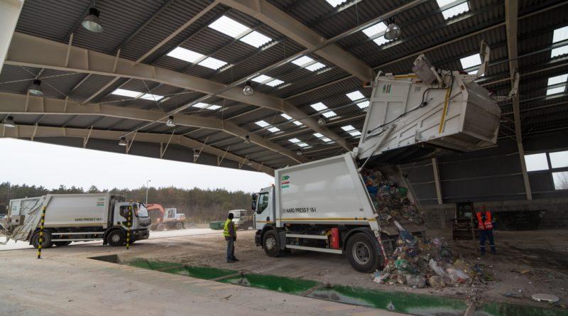 Paksi hulladékkezelő központ. Fotó: Babai István/Paksi Polgármesteri Hivatal/archív