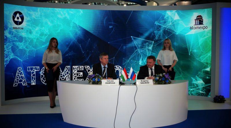 Jevgenyij Szalkov (j) és Hamvas István (b). Fotó: Hárfás Zsolt