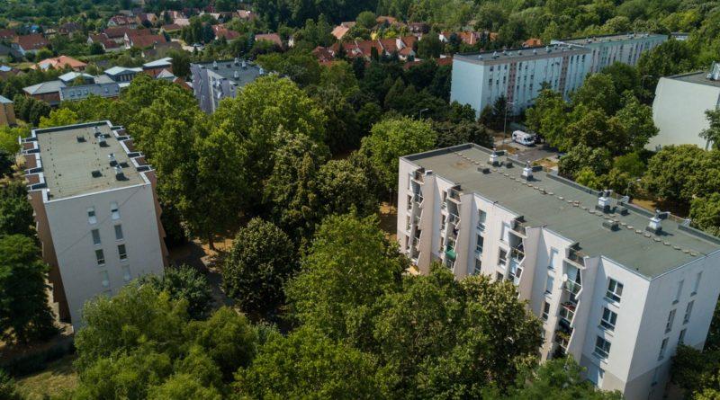 Elkezdődik a Kurcsatov utcai tömbbelső-felújítás első üteme. Fotó: Babai István/Paksi Polgármesteri Hivatal