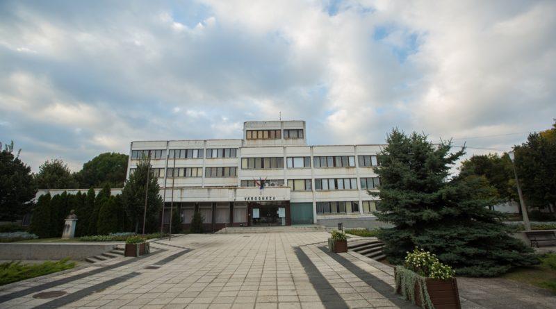 A paksi Városháza. Fotó: Babai István/Paksi Polgármesteri Hivatal