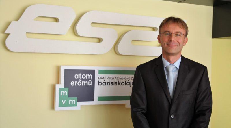 Az ESZI új igazgatója, Csanádi Zoltán. Fotó: Vida Tünde