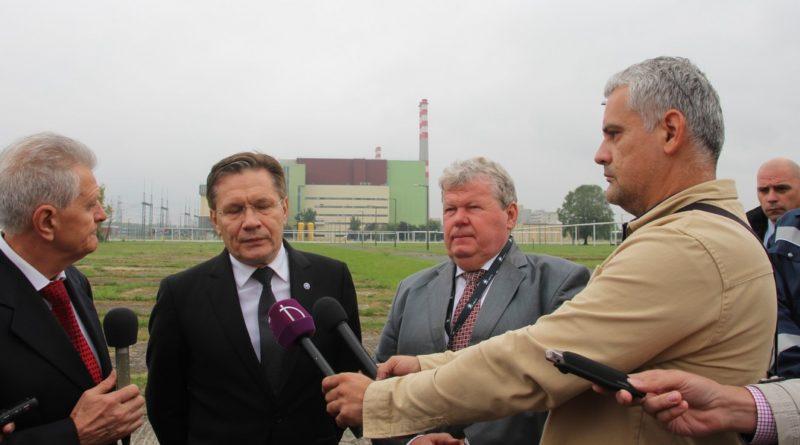 Alekszej Lihacsov és Süli János sajtótájékoztatója. Fotó: Vida Tünde