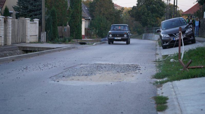 Haladás utca. Fotó: Szaffenauer Ferenc/Paksi Hírnök