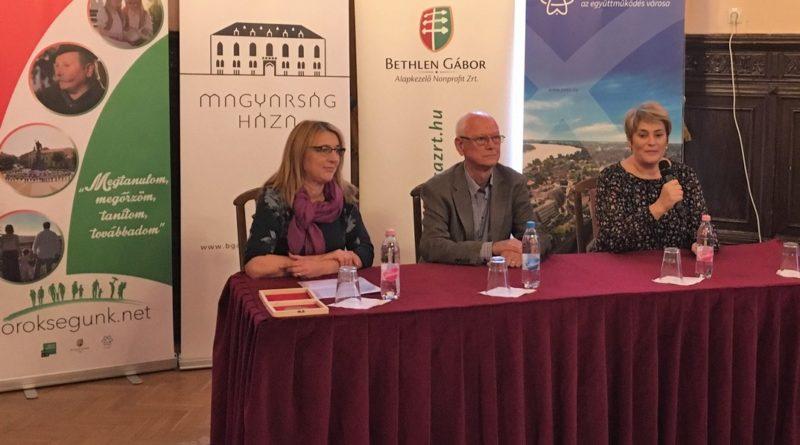 Sajtótájékoztató a Magyarság Házában. Fotó: Örökségünk mozgalom