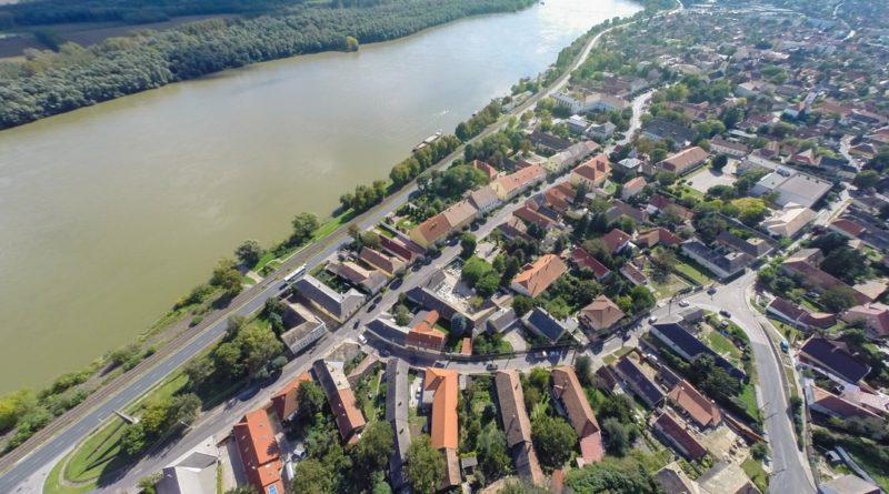 A Duna Paksnál. Fotó: Babai István/Paksi Hírnök