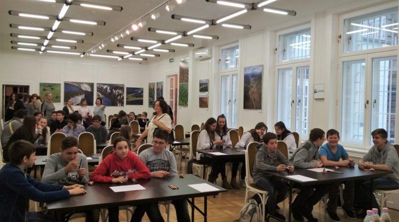 A versenyt az Orosz Kulturális Központban rendezték. Fotó: II. Rákóczi Ferenc iskola
