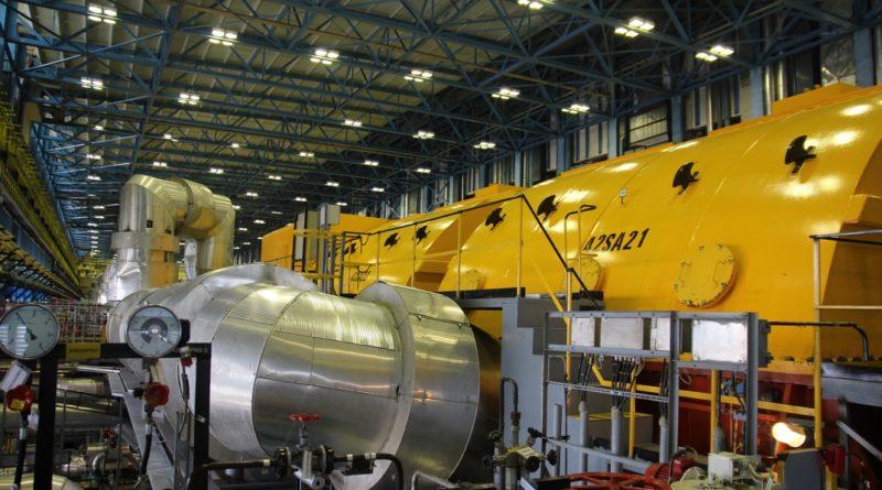 Az atomerőmű egyik turbinája. Fotó: Vida Tünde