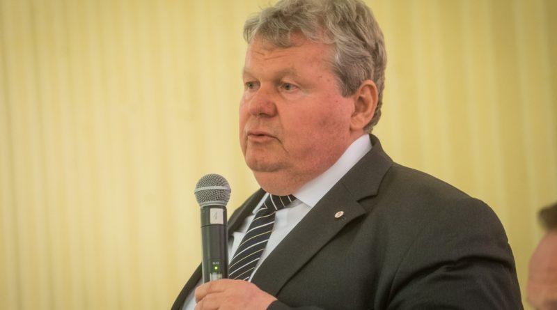 Süli János a Kaposvári Vállalkozói Klub vendége volt. Fotó: Babai István