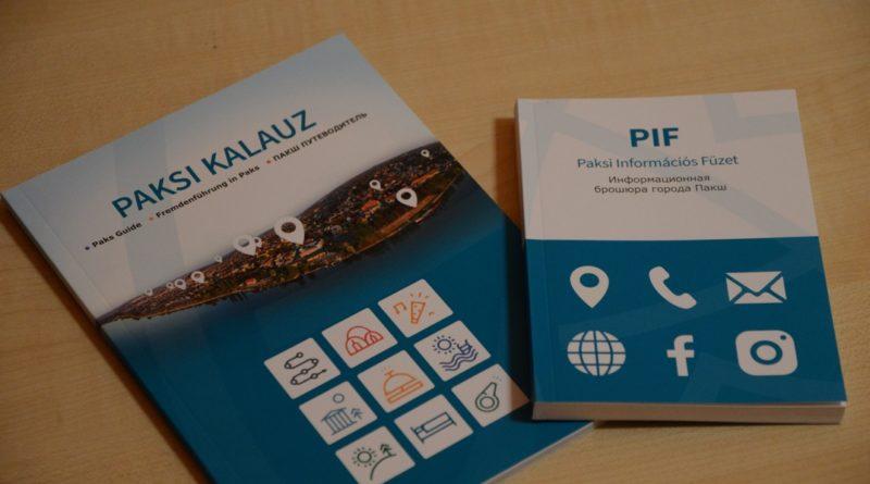 Paks két új kiadványa. Fotó: Szaffenauer Ferenc/Paksi Hírnök