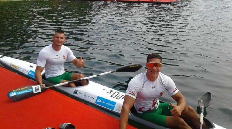 Somorácz Tamás (b.) és Mozgi Milán (j.). Fotó: Atomerőmű Sportegyesület Facebook-oldala