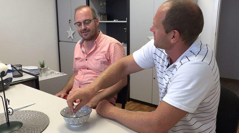 dr. Potoczky Iván és Bedecs Ferenc , a Helyi Választási Bizottság ülésén Fotó: Telepaks