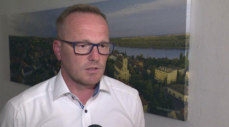 Szabó Péter, Paks polgármestere. Fotó: TelePaks
