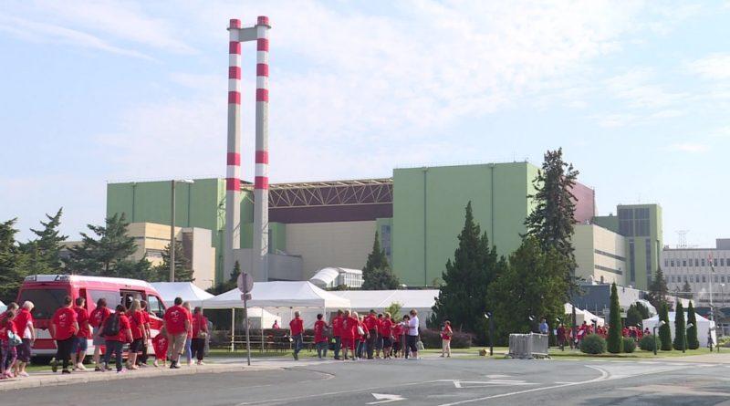 2018-ban Uszód és Dunaföldvár voltak a vendégtelepülések a paksi atomerőmű nyílt napján. Fotó: TelePaks