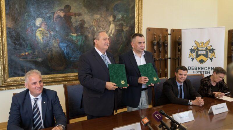 A Debreceni Egyetem is csatlakozott a Paks II. Akadémiához. Fotó: Paks II. Zrt.