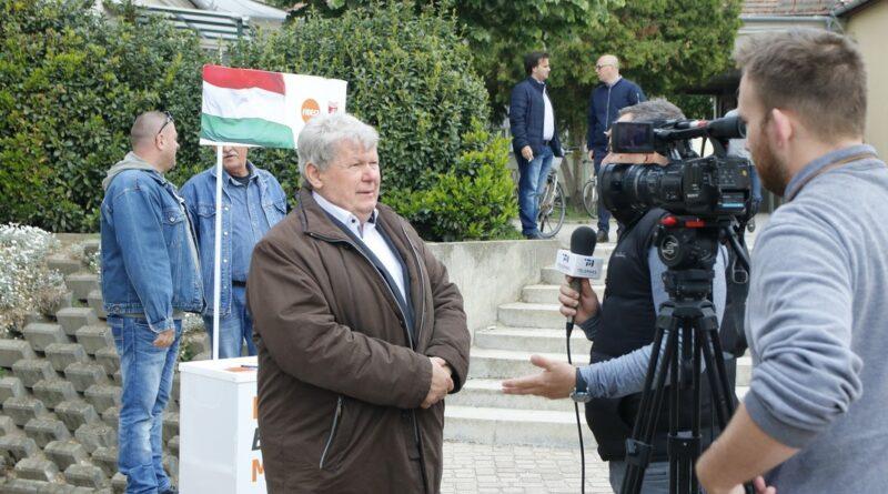 Süli János, tárca nélküli miniszter, a Fidesz-KDNP országgyűlési képviselője. Fotó: Molnár Gyula/Paksi Hírnök