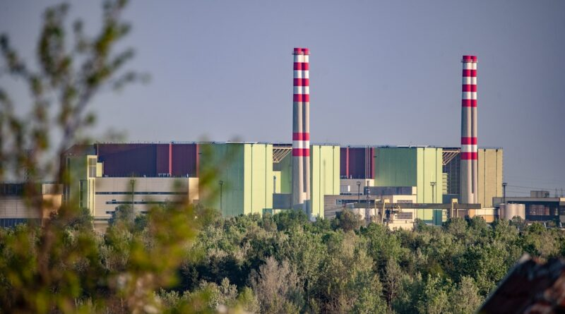 A paksi atomerőmű. Fotó: Babai István