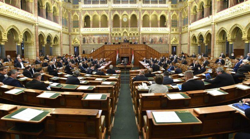 Az Országgyűlés mai plenáris ülése. Fotó: Máthé Zoltán / MTI