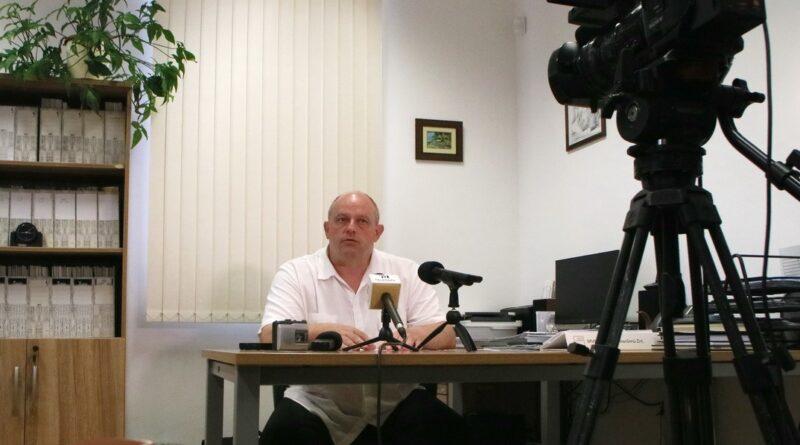 Dr. Bodnár Imre, a Paksi Gyógyászati Központ főigazgatója. Fotó: Molnár Gyula/Paksi Hírnök
