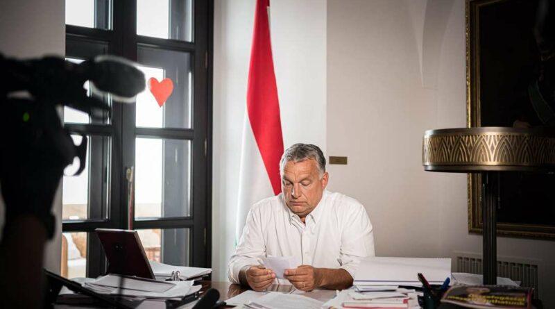 Fotó: Orbán Viktor miniszterelnök Fb. oldala.