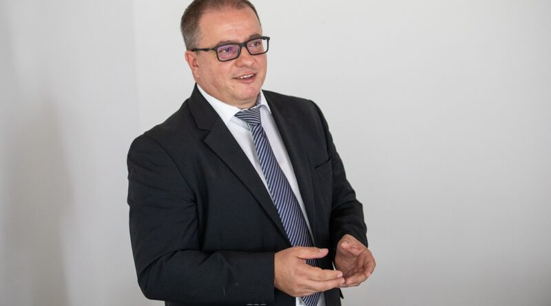 Bognár Péter, a Paks II. Zrt. humánerőforrás igazgatója. Fotó: paks2.hu