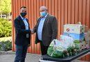 Élelmiszeradomány a gyógyászati központnak – tervezik az újranyitást