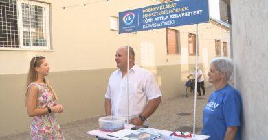 Programját ismertette Tóth Attila Szilveszter